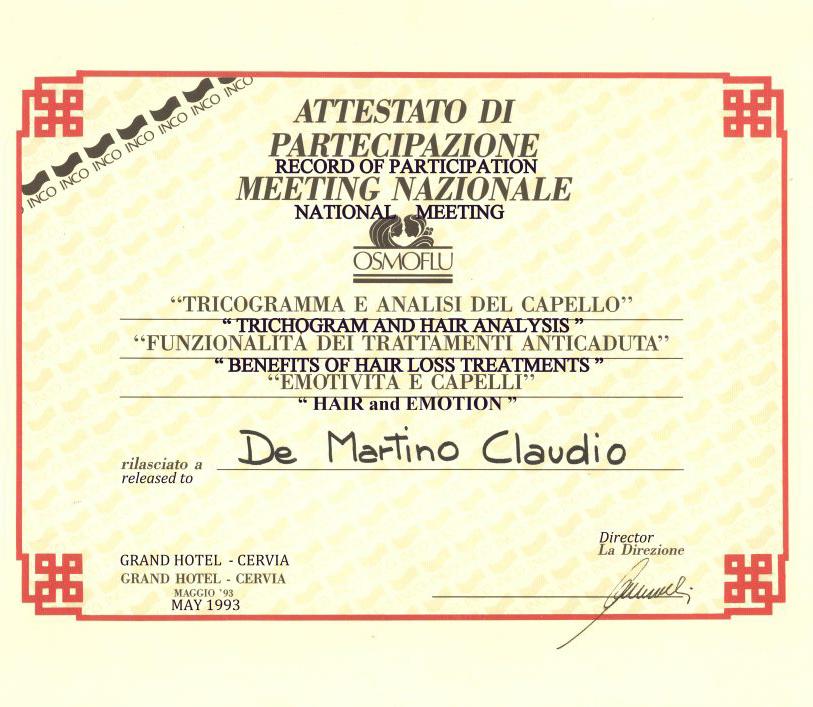 claudio de martino tricologia 2